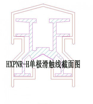 HXPNR-H单极滑触线